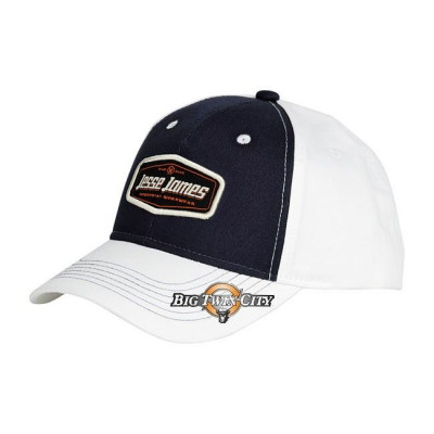 CASQUETTE REGLABLE JESSE JAMES NAVY / BLANC