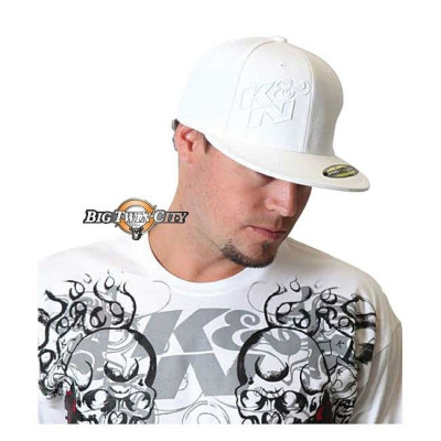 CASQUETTE BIKERS LOGO K&N INCLINE BLANC