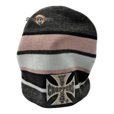 BONNET BIKER WEST COAST CHOPPERS STRIPED