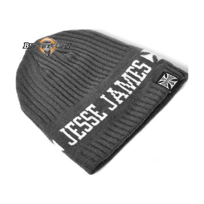 BONNET BIKERS WEST COAST CHOPPERS JESSE JAMES GRIS
