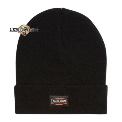 BONNET BIKERS JESSE JAMES ROLL UP NOIR