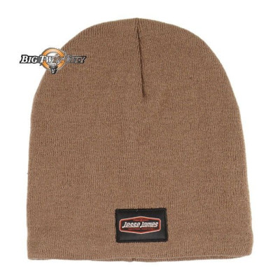 BONNET BIKERS JESSE JAMES KNITTED MARRON