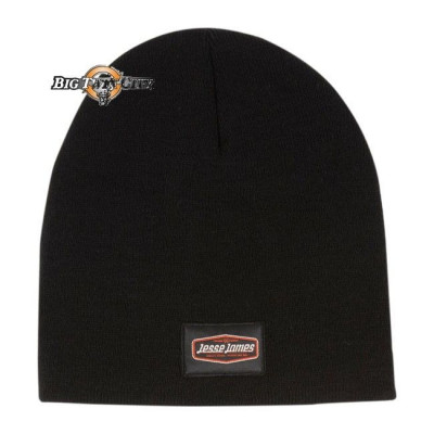 BONNET BIKERS JESSE JAMES KNITTED NOIR