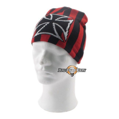 BONNET BIKERS CHOPPERS CROIX DE MALTE