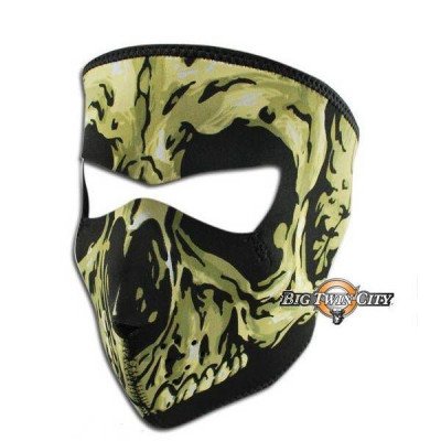 MASQUE BIKERS SQUELETTE