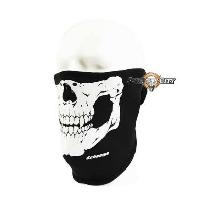 MASQUE BIKERS SCHAMPA NEOPRENE SKULL