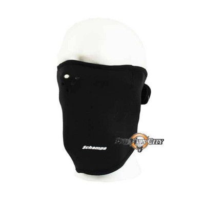 MASQUE BIKERS SCHAMPA NEOPRENE  NOIR