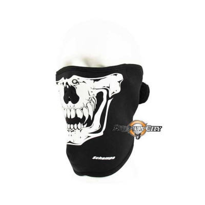 MASQUE BIKERS SCHAMPA NEOPRENE SKULL CLOWN