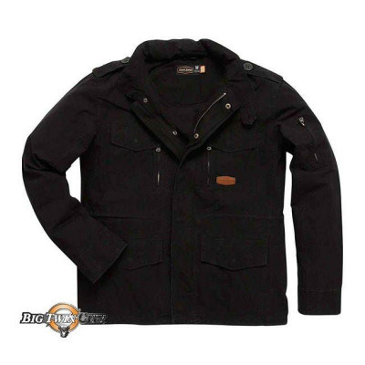 VESTE JESSE JAMES BDU NOIR - FACE