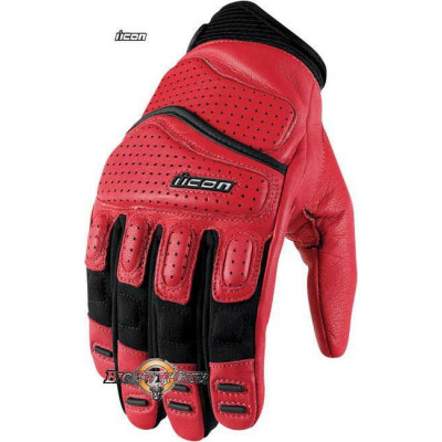 GANTS ICON SUPERDUTY 2 ROUGE