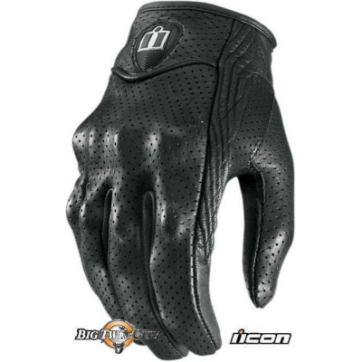 GANTS FEMME ICON PURSUIT PERFORE NOIR