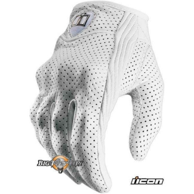 GANTS FEMME ICON PURSUIT PERFORE BLANC