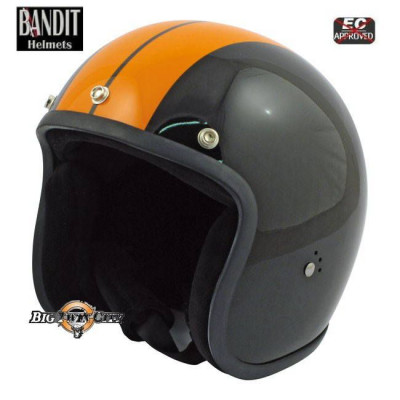 Casque Jet Bandit Race noir / orange