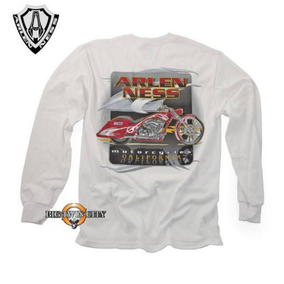 Tee-shirt Ness Red Bagger Blanc