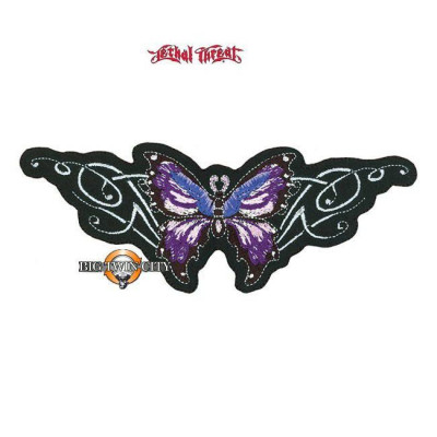 ECUSSON / PATCH PAPILLON VIOLET