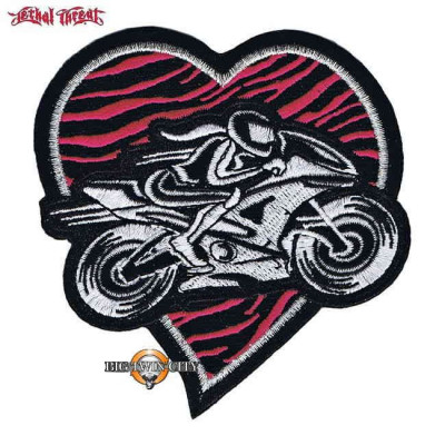 ECUSSON / PATCH PINK HEART BOBBER
