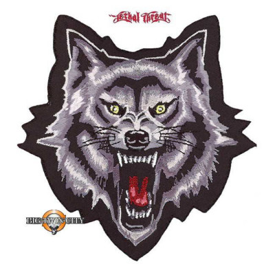 ECUSSON / PATCH WOLF GROWL