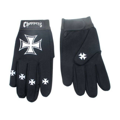 GANTS MECHANICS CHOPPERS CROIX DE MALTE
