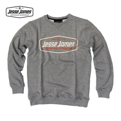 SWEAT JESSE JAMES INDUSTRY RAGLAN GRIS