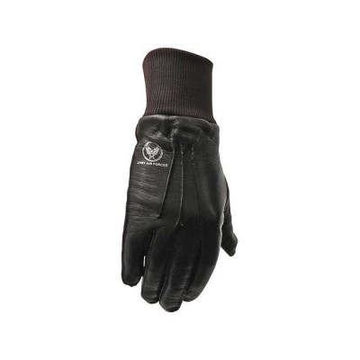 GANTS CUIR AIR FORCE MARRON