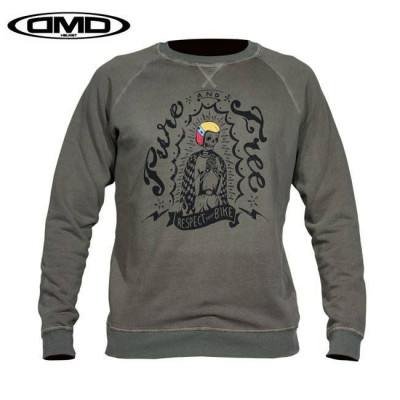 Sweat DMD Pure vert militaire