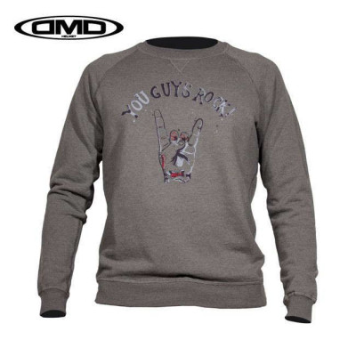 SWEAT DMD GUYS GRIS