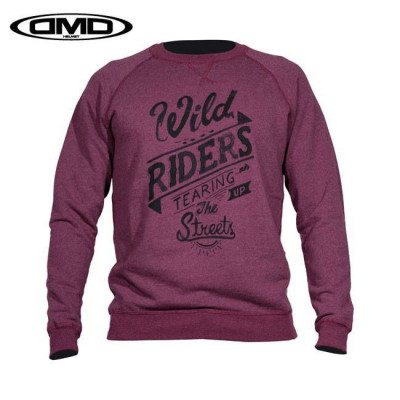 SWEAT DMD RIDERS BORDEAUX