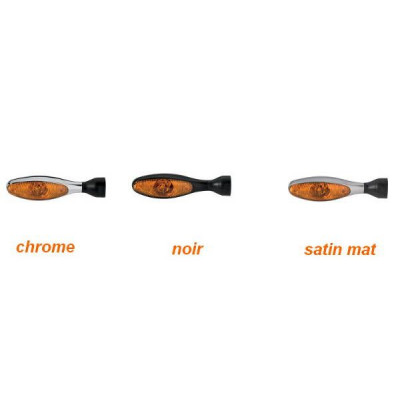 CLIGNOTANT LED VERRE ORANGE