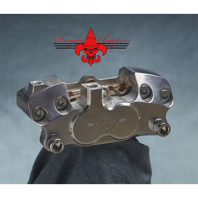 Etrier de frein 4 pistons Dragon Choppers Springer