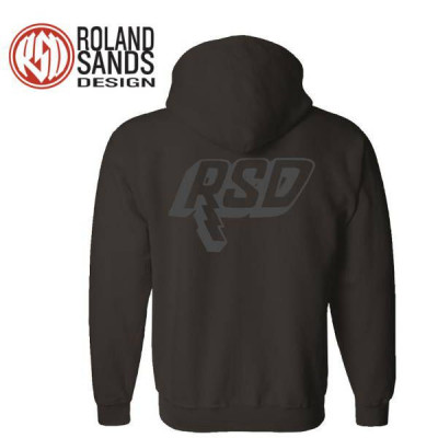 Sweat Homme Roland Sands Bolt noir