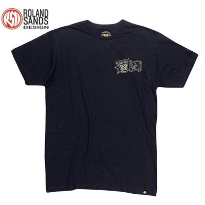 T-shirt Homme Roland Head Down Noir