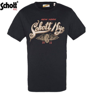 T-shirt Homme Schott New York Noir
