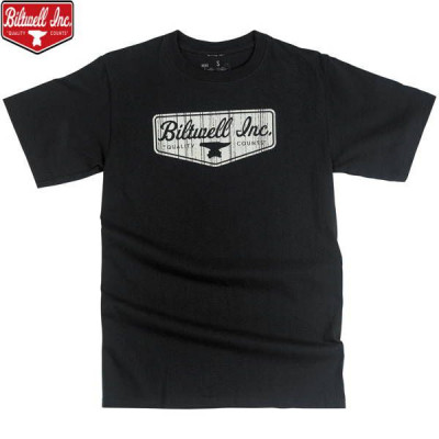 T-shirt Homme Biltwell Shield Noir