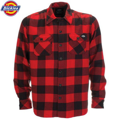 Chemise Homme Dickies Sacramento Rouge