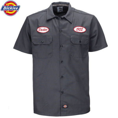 Chemise Homme Dickies Rotonda South Work Gris