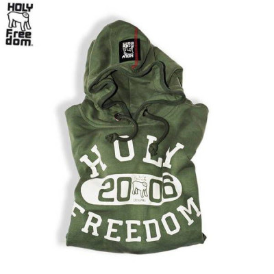 Sweat Homme Holy Freedom Old School Vert
