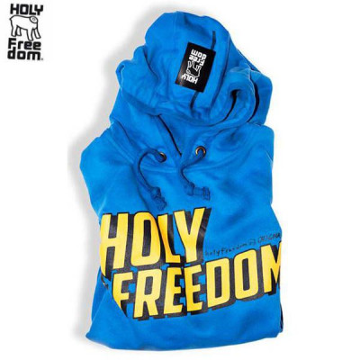 Sweat Homme Holy Freedom Wrecking Bleu