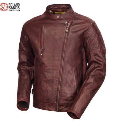 Blouson Roland Sands Clash Oxblood