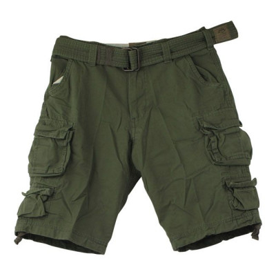Short Homme Stone Washed Green
