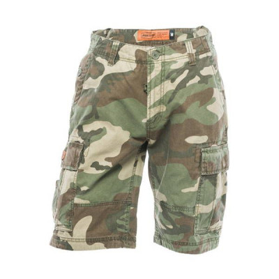 Short Homme Jesse James Industrial Camouflage