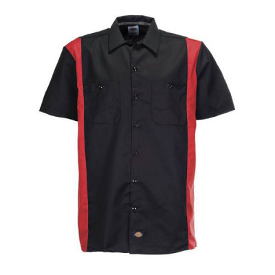 Chemise Homme Dickies Two Tone Noir / Rouge