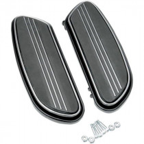 Marche pieds Pilote Sweeper Noir Dyna, Softail, Touring