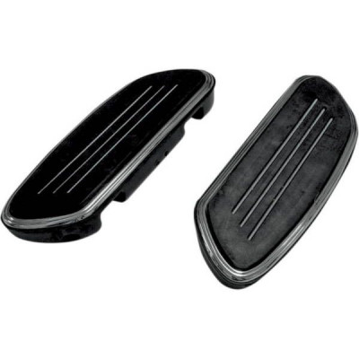 Marche pieds Passager Sweeper Noir Dyna, Softail, Touring