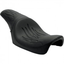 Selle Duo Drag Specialties Predator Flamme Dyna 96/03