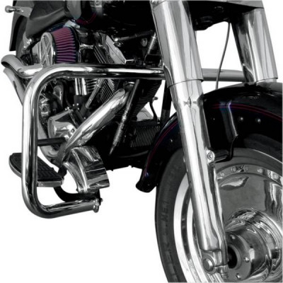 Pare Jambe Big Buffalo Chromé Softail FLST 86/99