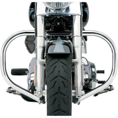 Pare Jambe Fatty Chromé Cobra Softail FLSTC 00/16