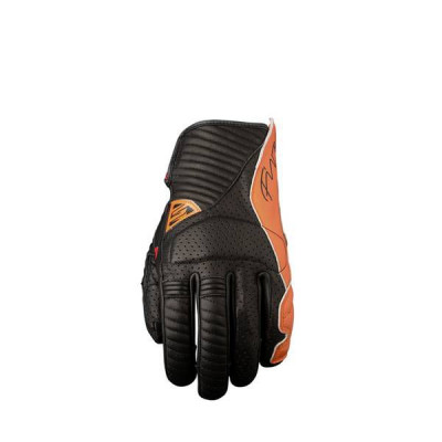 Gants Moto FIVE Arizona Homme Noir/Orange