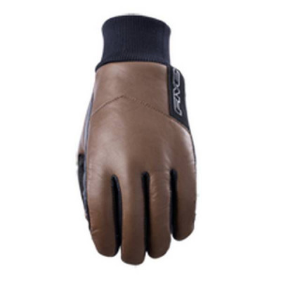 Gants Moto FIVE Classic Waterproof Homme Marron