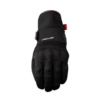 Gants Moto FIVE courts WFX City Waterproof Homme Noir