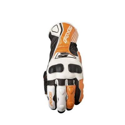 Gants Moto FIVE RFX4 Replica Waterproof Homme Blanc/Orange